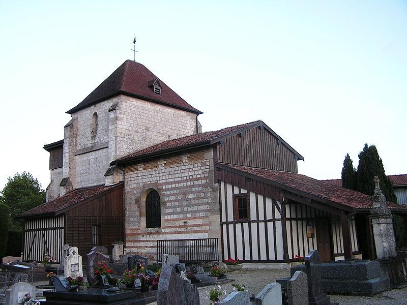 Photo du Monument Historique Eglise situé à Norrois