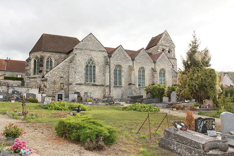 Photo du Monument Historique Eglise situé à OEuilly