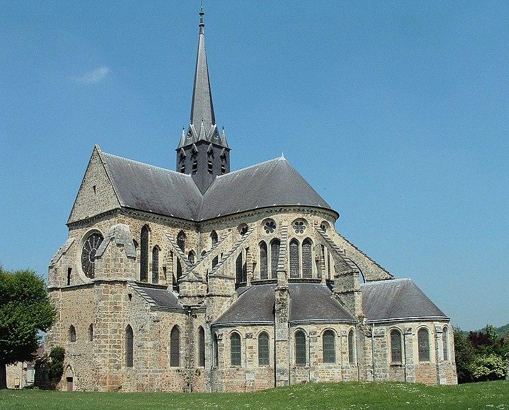 Photo du Monument Historique Abbaye situé à Orbais-l'Abbaye