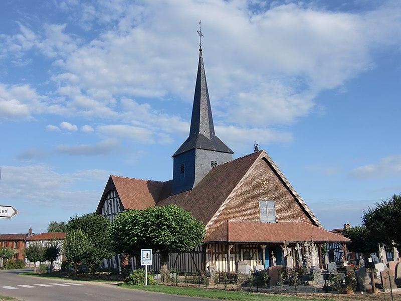 Photo du Monument Historique Eglise situé à Outines