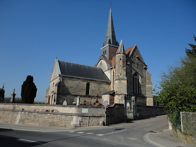 Photo du Monument Historique Eglise de l'Assomption situé à Pargny-sur-Saulx