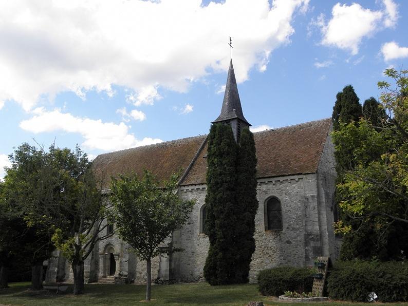 Photo du Monument Historique Eglise situé à Passy-Grigny