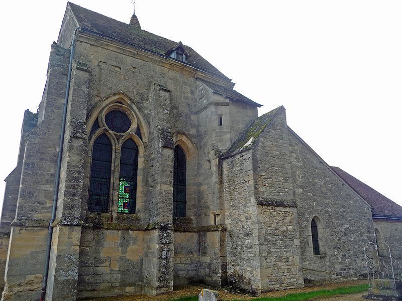 Photo du Monument Historique Eglise Notre-Dame situé à Pévy