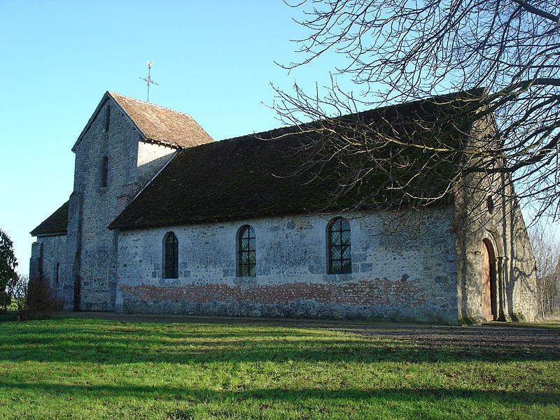Photo du Monument Historique Eglise situé à Pierre-Morains