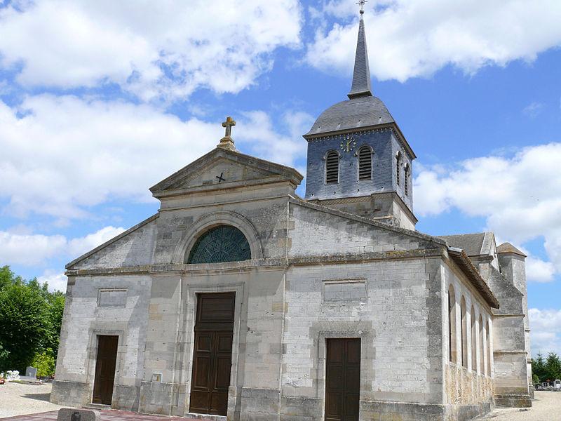 Photo du Monument Historique Eglise de la Nativité de la Vierge situé à Pogny