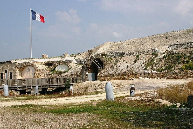 Photo du Monument Historique Fort de la Pompelle et ses abords situé à Puisieulx