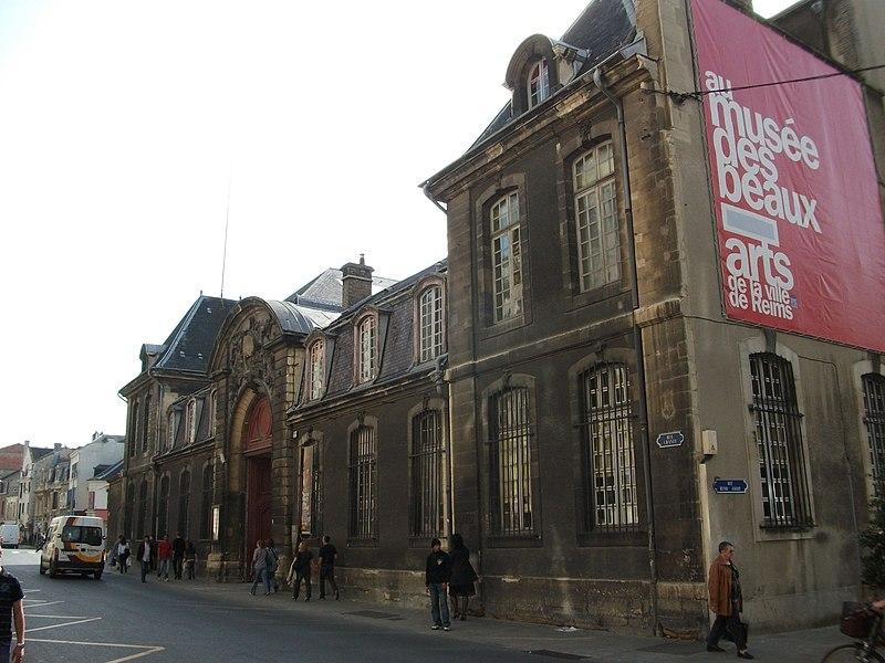 Photo du Monument Historique Abbaye Saint-Denis situé à Reims