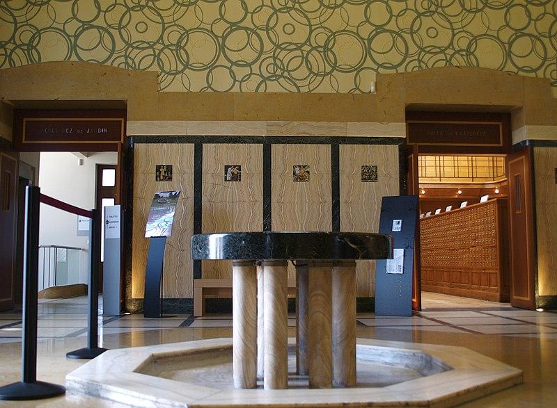 Photo du Monument Historique Bibliothèque Carnégie situé à Reims