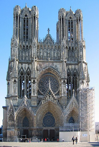 Photo du Monument Historique Cathédrale Notre-Dame situé à Reims