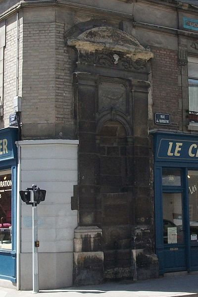 Photo du Monument Historique Fontaine situé à Reims