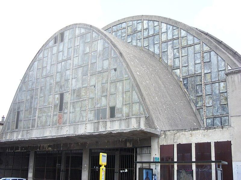 Photo du Monument Historique Halles centrales situé à Reims