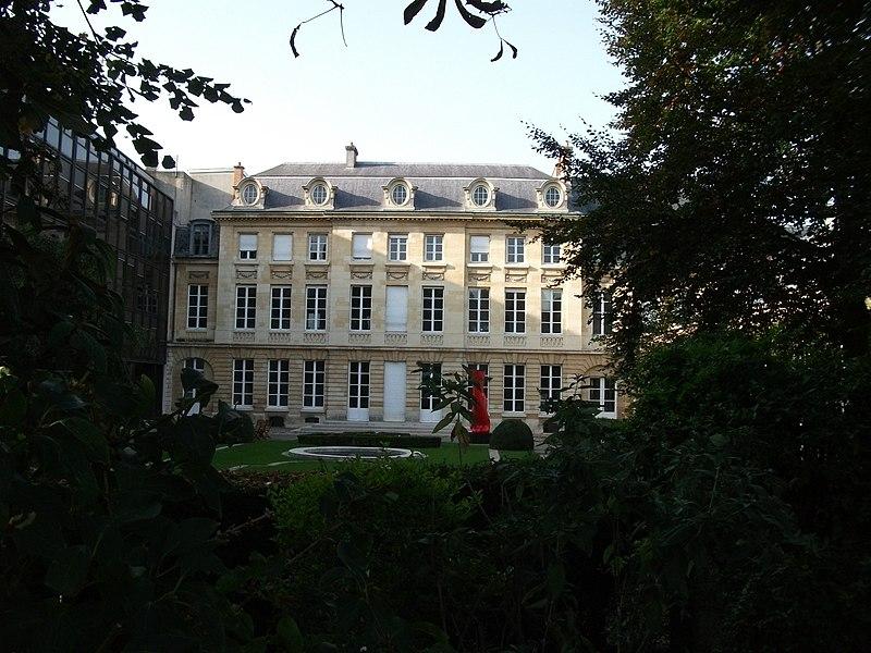 Photo du Monument Historique Hôtel Ponsardin situé à Reims