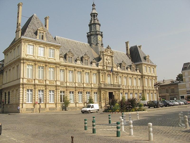Photo du Monument Historique Hôtel de ville situé à Reims