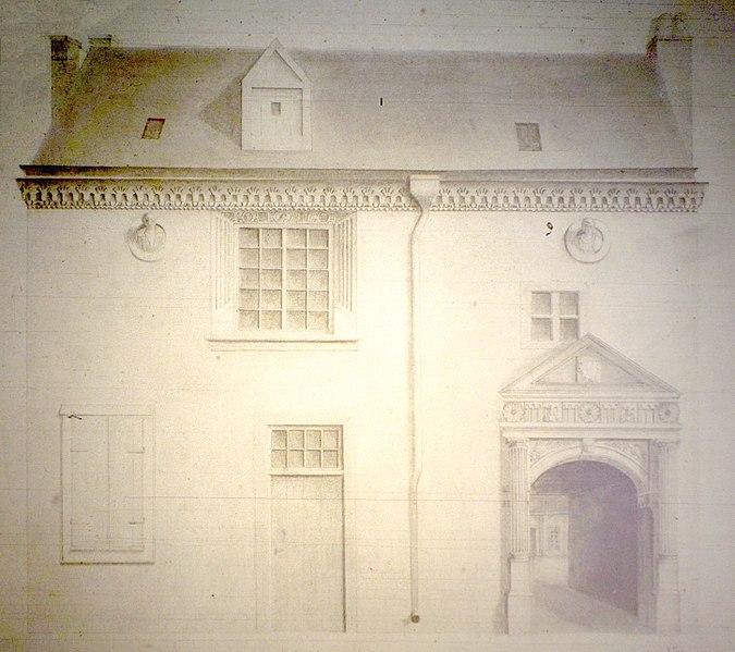 Photo du Monument Historique Maison situé à Reims
