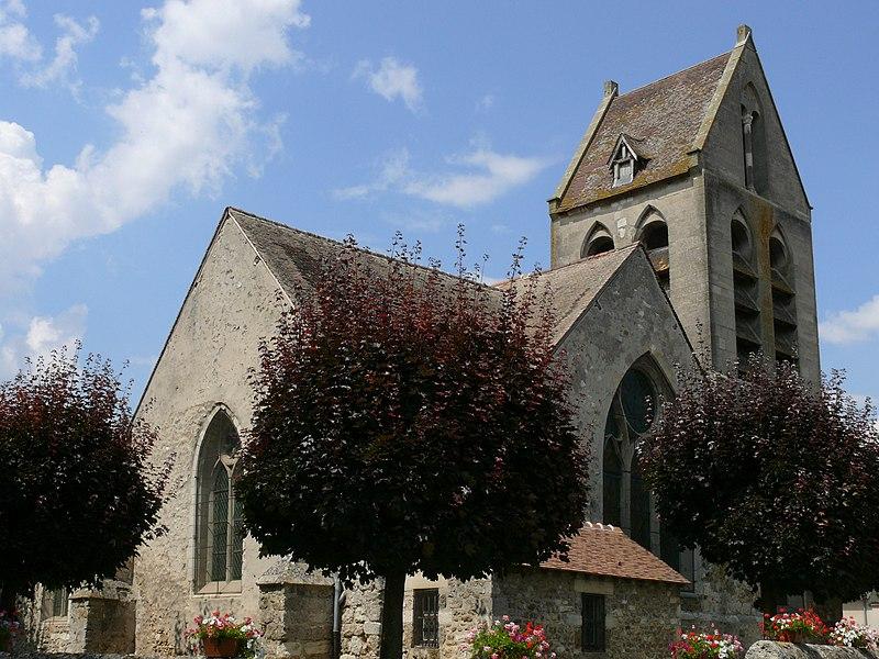 Photo du Monument Historique Eglise situé à Reuil