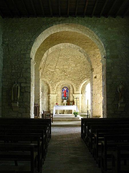Photo du Monument Historique Eglise situé à Romigny