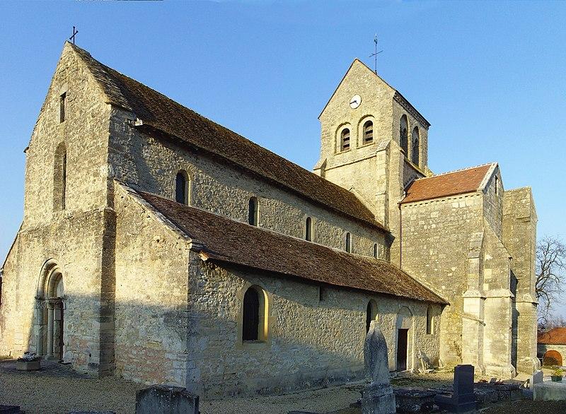 Photo du Monument Historique Eglise situé à Rosnay