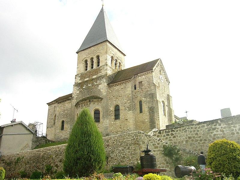 Photo du Monument Historique Eglise situé à Sacy
