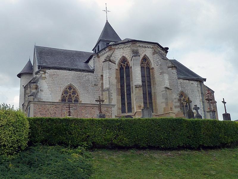 Photo du Monument Historique Eglise de Saint-Jean situé à Saint-Jean-sur-Tourbe