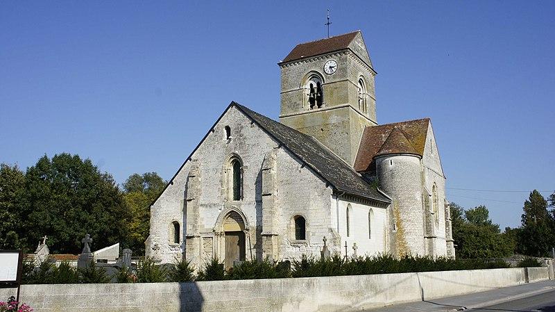 Photo du Monument Historique Eglise situé à Saint-Masmes