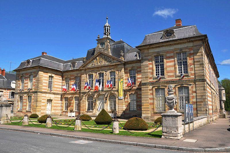 Photo du Monument Historique Hôtel de ville situé à Sainte-Menehould