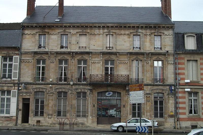 Photo du Monument Historique Immeubles situé à Sainte-Menehould