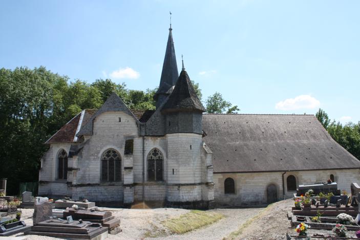 Photo du Monument Historique Eglise Saint-Ouen situé à Saint-Ouen-Domprot