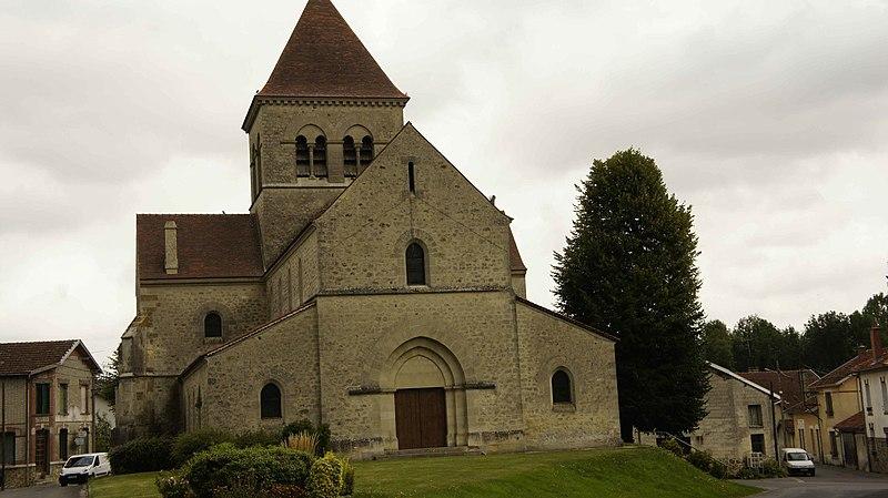 Photo du Monument Historique Eglise (ruines de l') situé à Saint-Souplet-sur-Py
