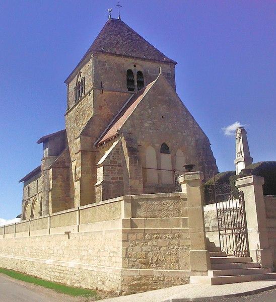 Photo du Monument Historique Eglise situé à Scrupt