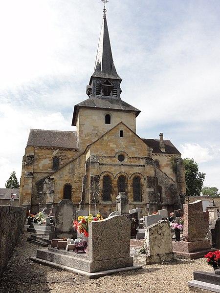 Photo du Monument Historique Eglise de la Nativité de la Vierge situé à Sermaize-les-Bains