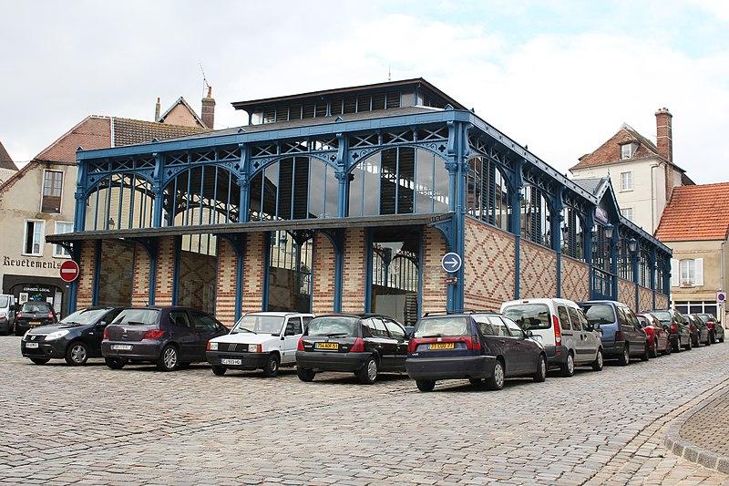 Photo du Monument Historique Marché couvert situé à Sézanne