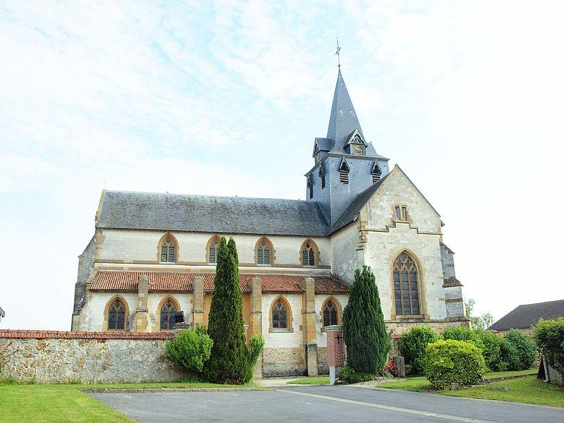 Photo du Monument Historique Eglise situé à Sommepy-Tahure