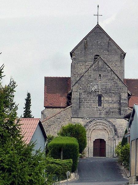 Photo du Monument Historique Eglise situé à Sommesous
