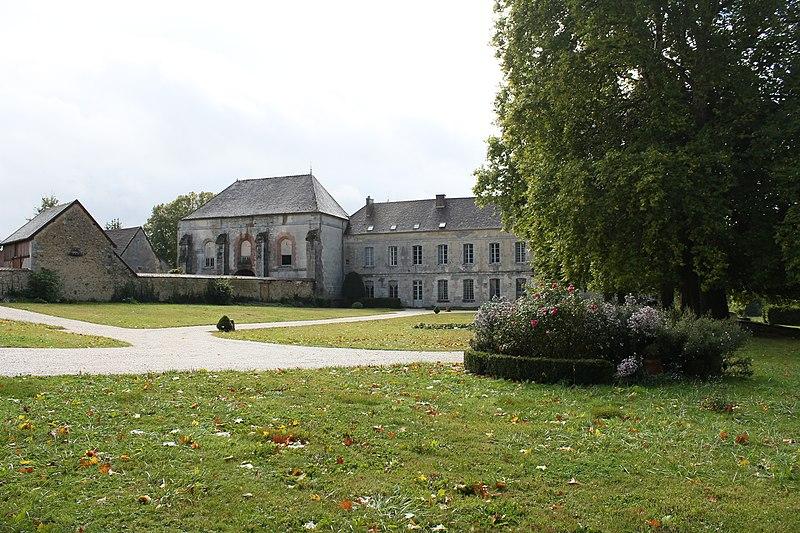 Photo du Monument Historique Ancienne abbaye du Reclus situé à Talus-Saint-Prix