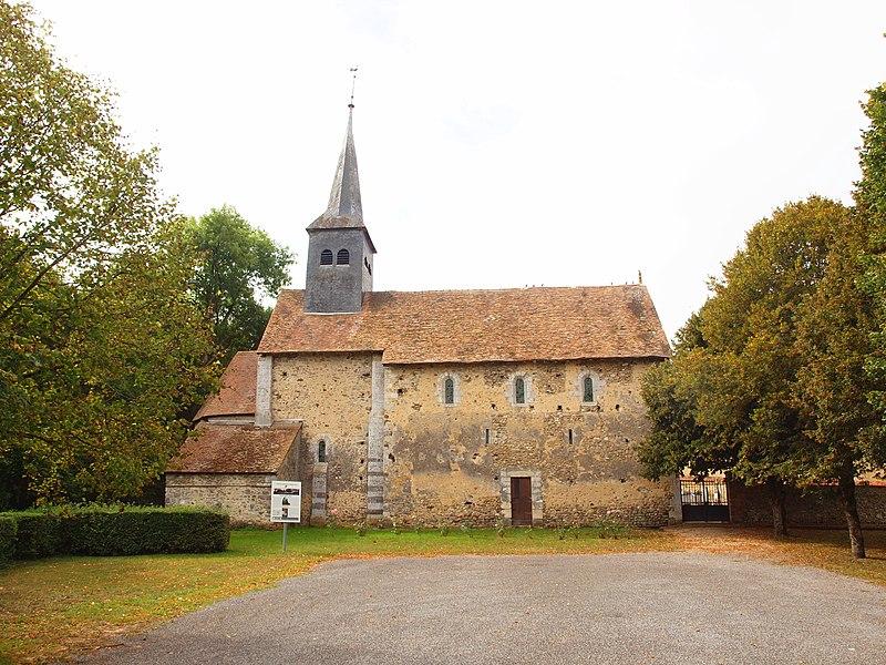 Photo du Monument Historique Eglise Saint-Prix situé à Talus-Saint-Prix