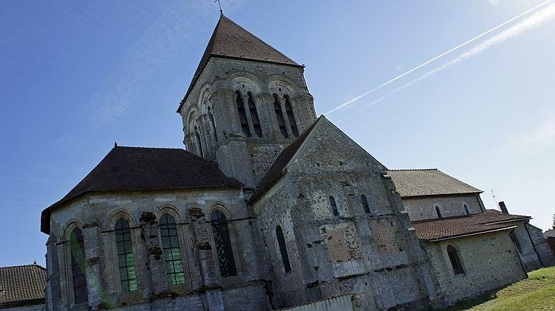 Photo du Monument Historique Eglise Saint-Symphorien situé à Thibie
