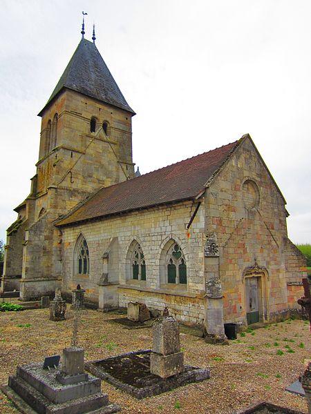 Photo du Monument Historique Eglise de Faremont situé à Thiéblemont-Farémont