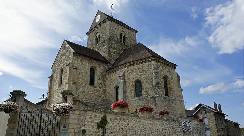 Photo du Monument Historique Eglise (ruines) situé à Thillois