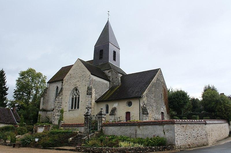 Photo du Monument Historique Eglise situé à Thoult-Trosnay (Le)