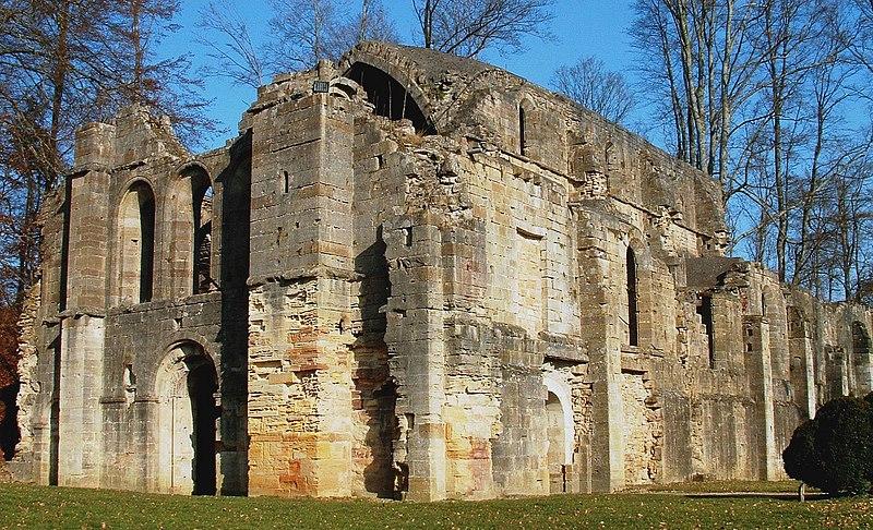 Photo du Monument Historique Abbaye situé à Trois-Fontaines-l'Abbaye