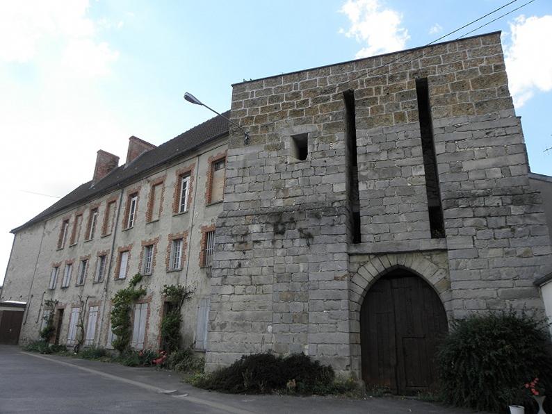 Photo du Monument Historique Château situé à Troissy