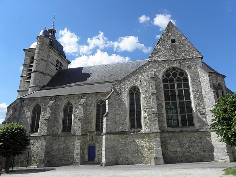 Photo du Monument Historique Eglise situé à Troissy