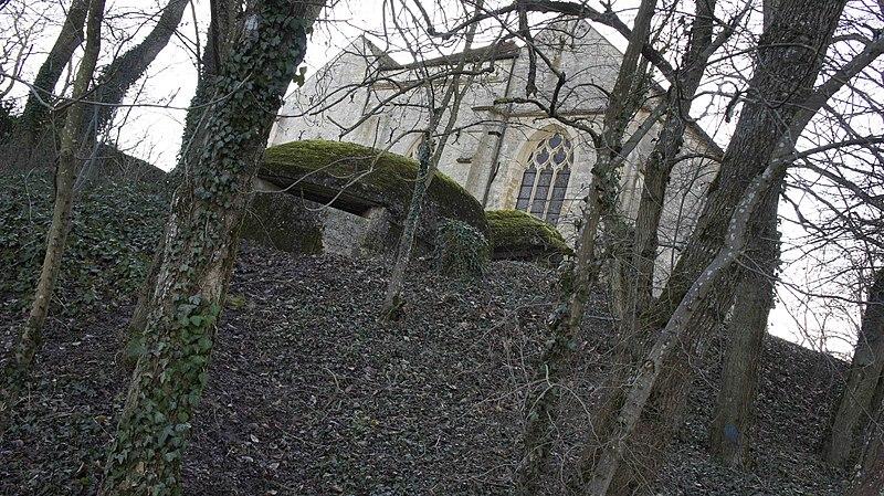 Photo du Monument Historique Chapelle Saint-Lié et les deux blockhaus situé à Ville-Dommange