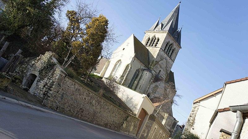 Photo du Monument Historique Eglise Saint-Lié situé à Ville-Dommange