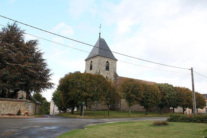 Photo du Monument Historique Eglise situé à Villeneuve-lès-Charleville (La)