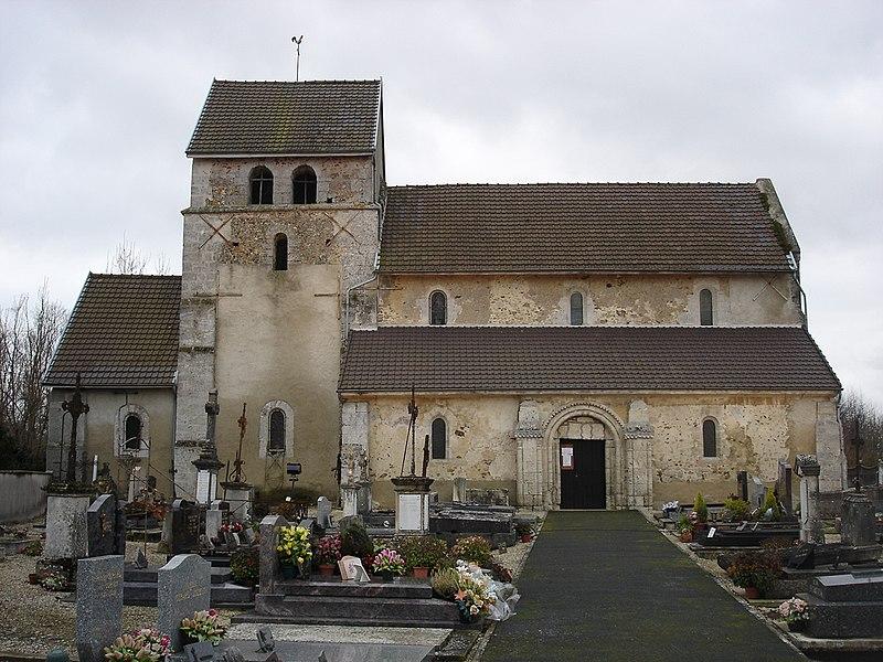 Photo du Monument Historique Eglise situé à Villeneuve-Renneville-Chevigny
