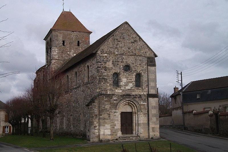 Photo du Monument Historique Eglise Saint-Théodulphe situé à Villers-aux-Noeuds