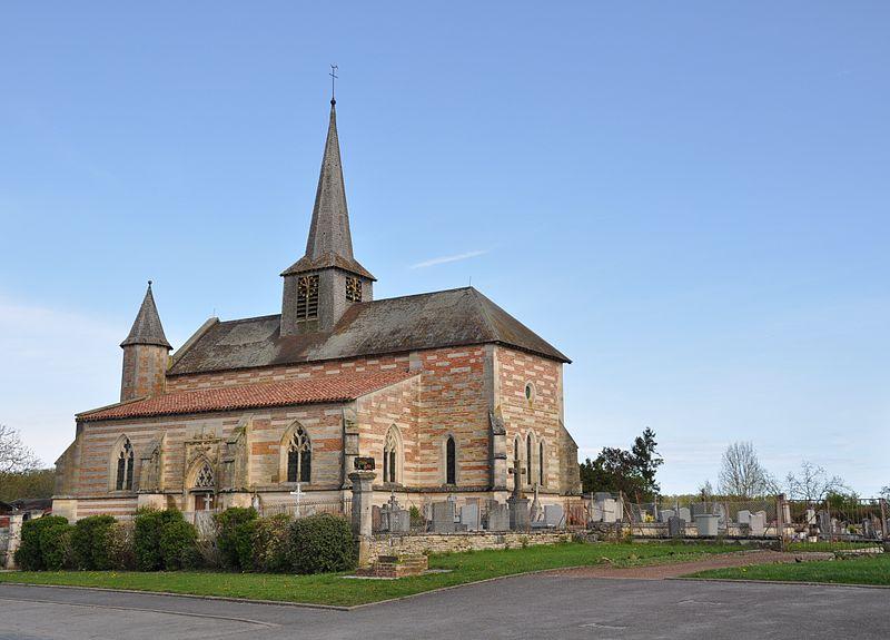 Photo du Monument Historique Eglise situé à Villers-en-Argonne