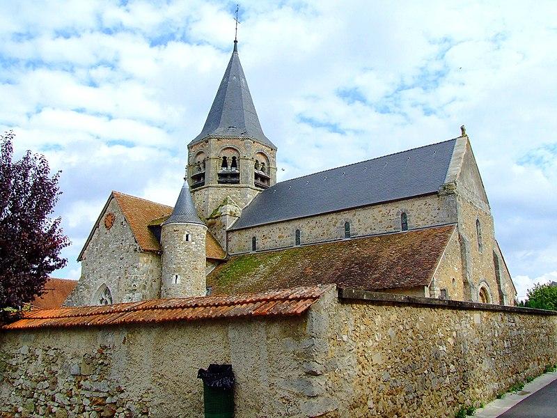 Photo du Monument Historique Eglise Saint-Alpin situé à Villevenard