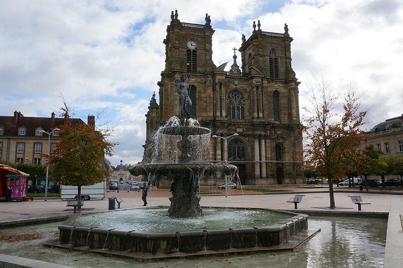 Photo du Monument Historique Eglise Notre-Dame situé à Vitry-le-François